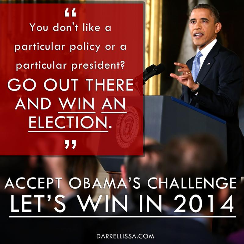 Accept President Obama's Challenge